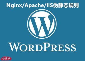 建站初学者必知的wordpress在Nginx/Apache/IIS中的伪静态规则